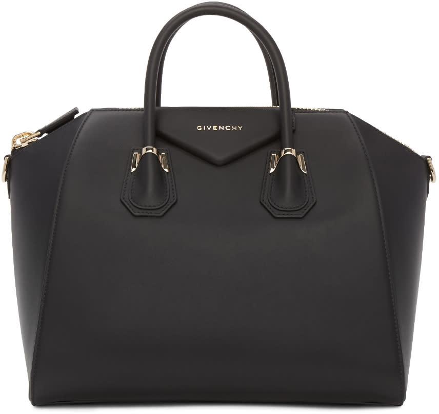 Givenchy Black Medium Piercing Antigona Bag