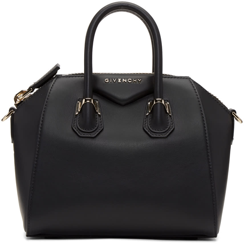 Givenchy Black Mini Piercing Antigona Bag