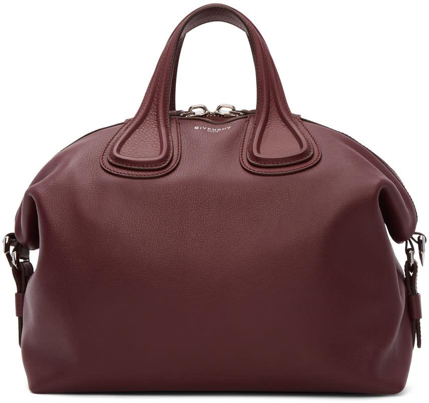 Givenchy Burgundy Medium Nightingale Bag