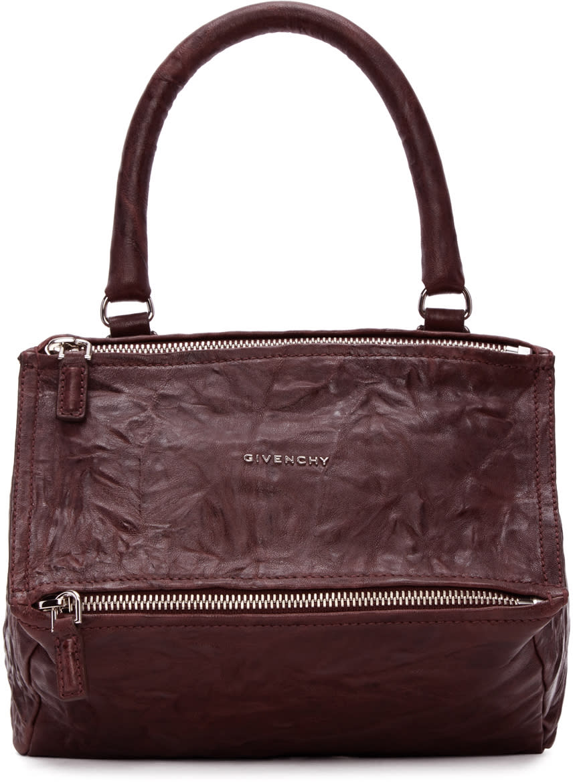 Givenchy Burgundy Medium Pandora Bag