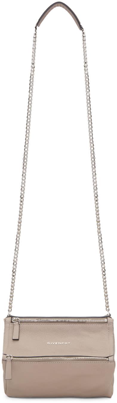 Givenchy Taupe Mini Pandora Bag