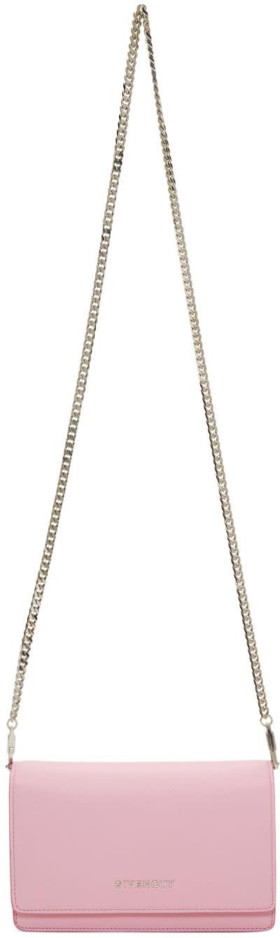 Givenchy Pink Pandora Chain Wallet Bag