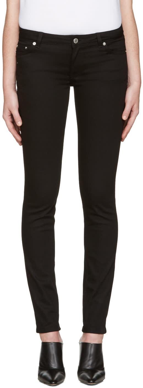 Givenchy Black Five-pocket Jeans