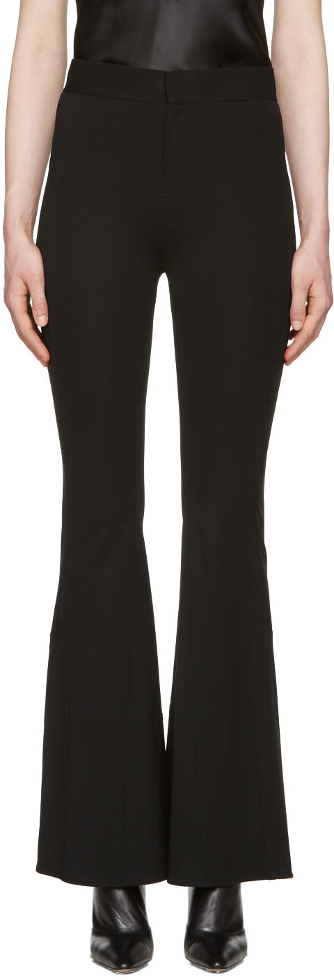Givenchy Black Flared Trousers