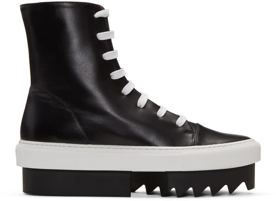 Givenchy Black Platform Skate High-top Sneakers