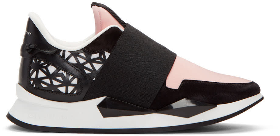 Givenchy Pink Runner Slip-on Sneakers