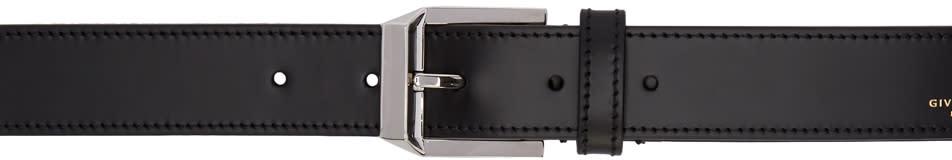 Givenchy Black Pyramid Buckle Belt