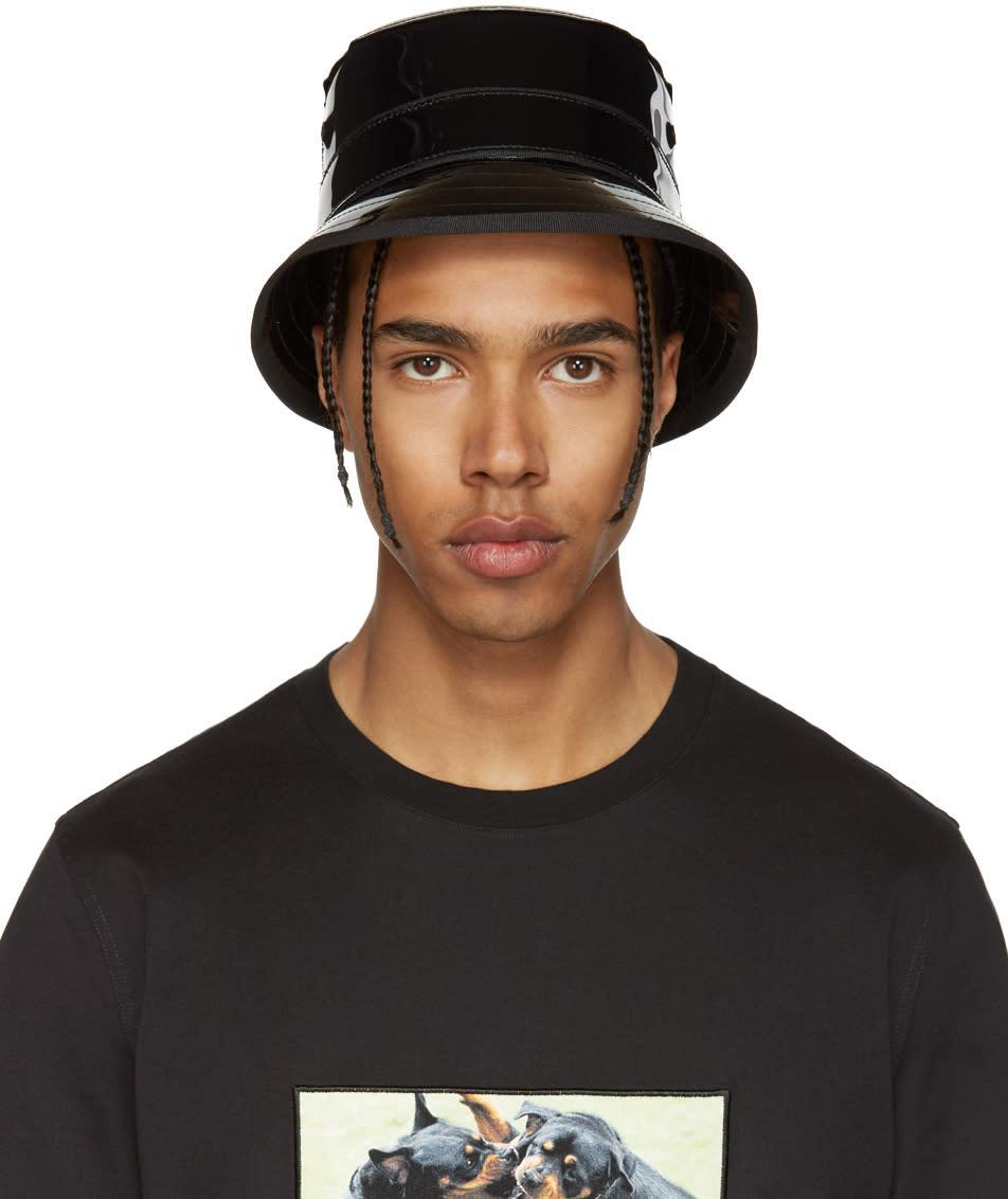 Givenchy Black Shiny Bucket Hat