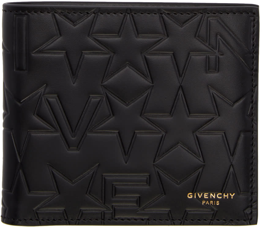 Givenchy Black Logo-embossed Wallet