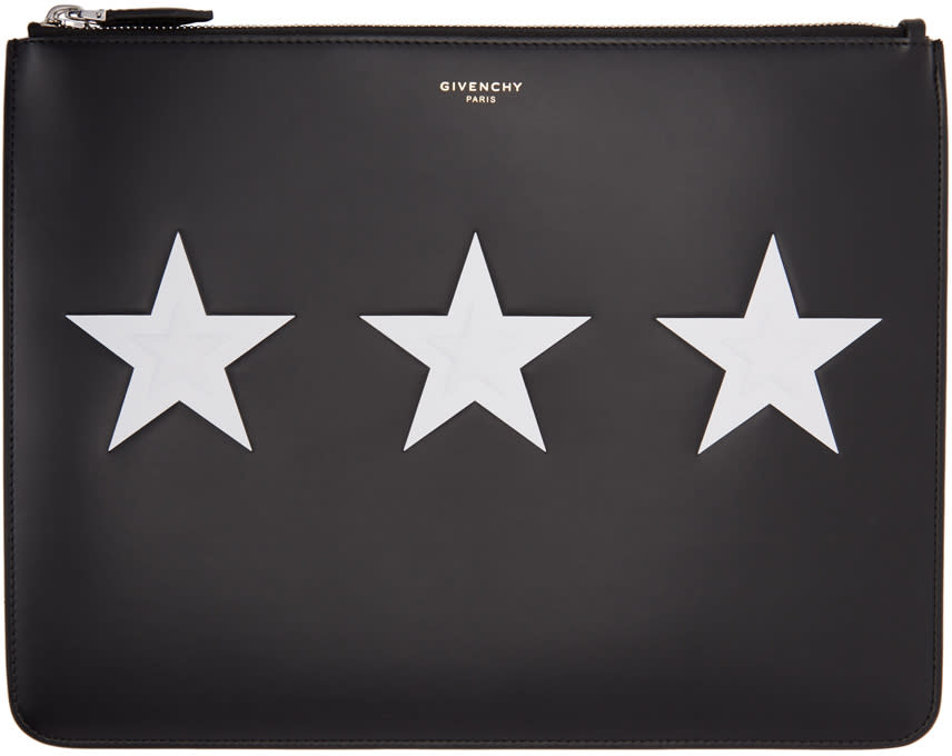 Givenchy Black Stars Pouch