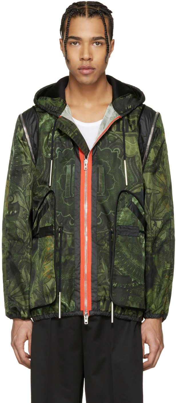 Givenchy Green Money Jacket