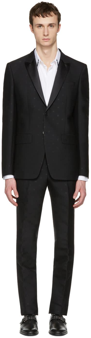 Givenchy Black Jacquard Tuxedo