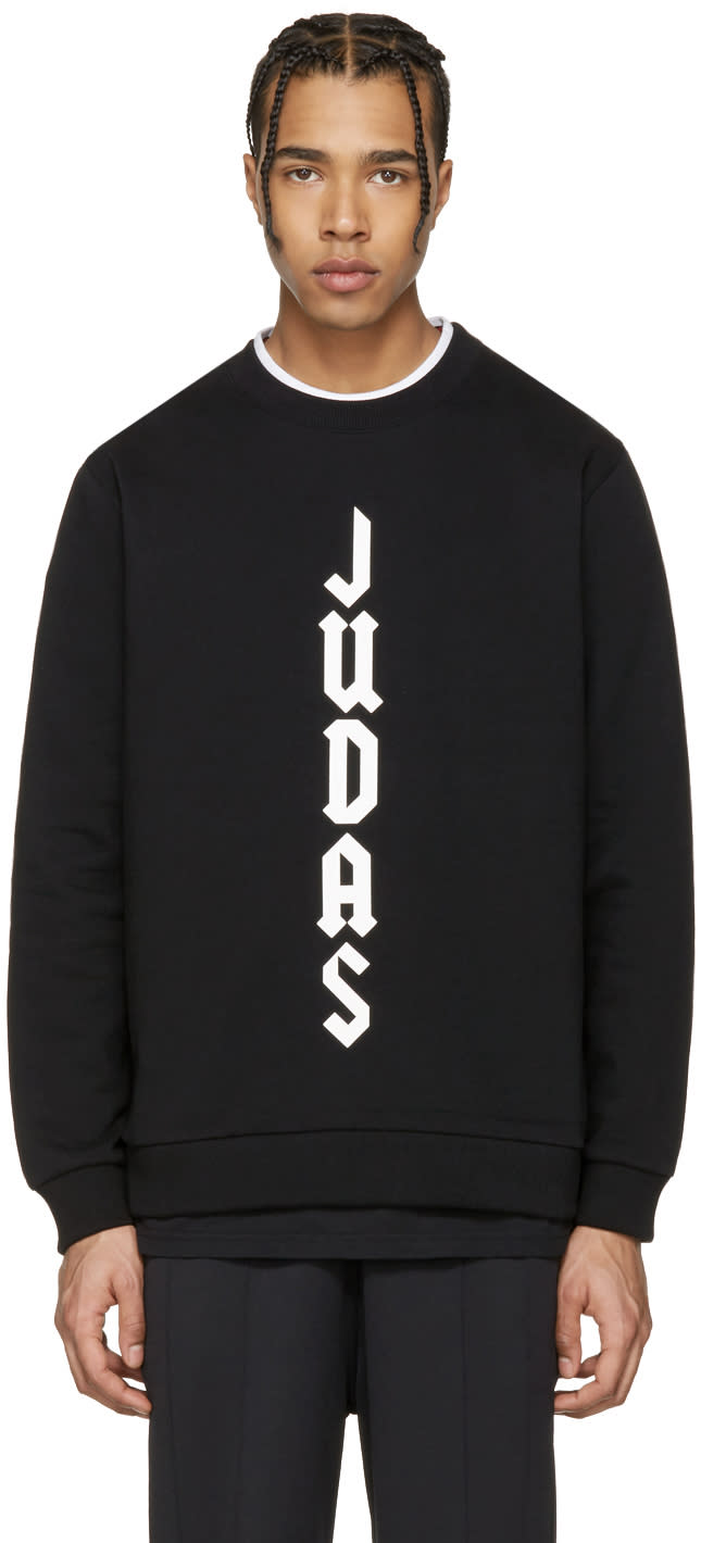 Givenchy Black judas Sweatshirt