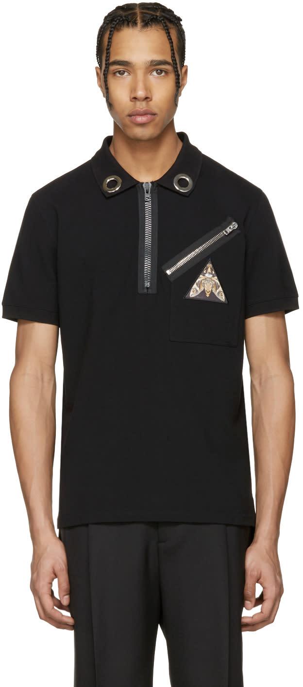 Givenchy Black Pyramid Eye Polo