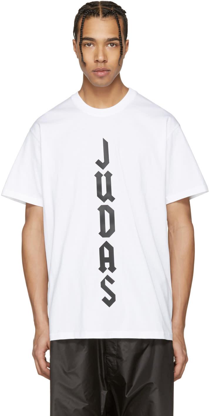 Givenchy White judas T-shirt