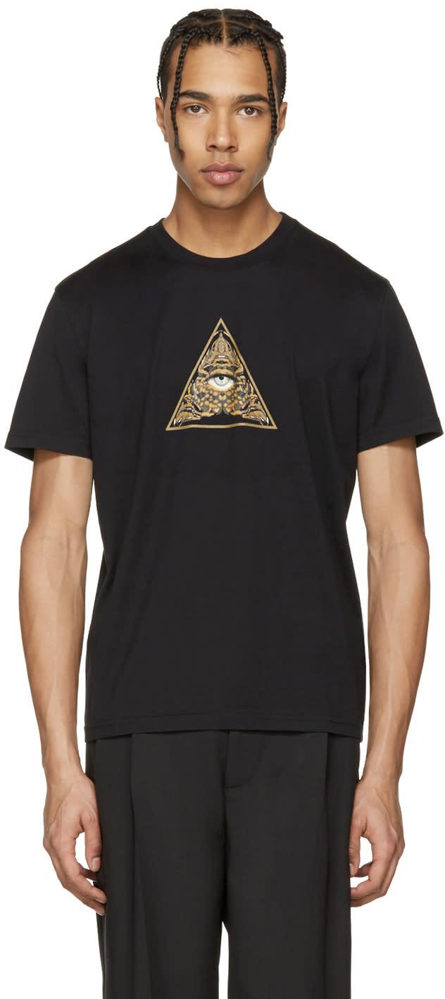 Givenchy Black Pyramid Eye T-shirt