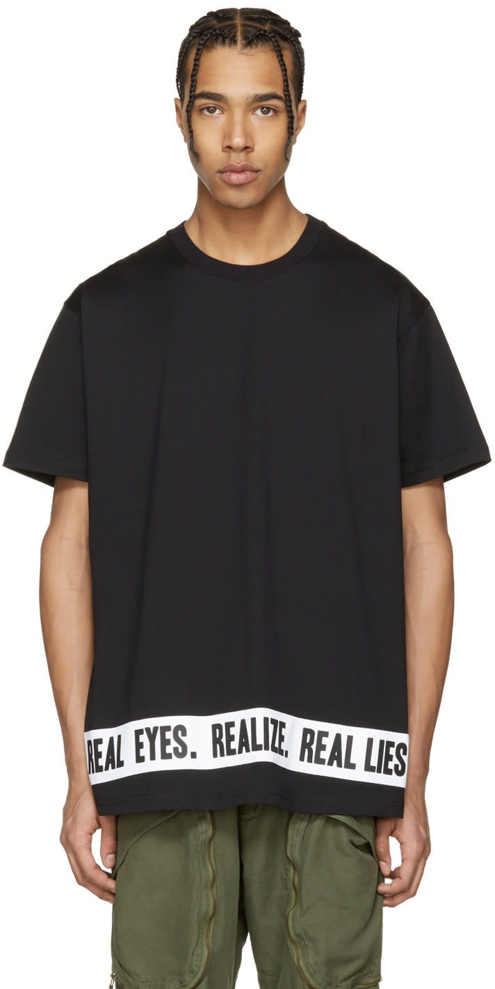 Givenchy Black real Eyes T-shirt