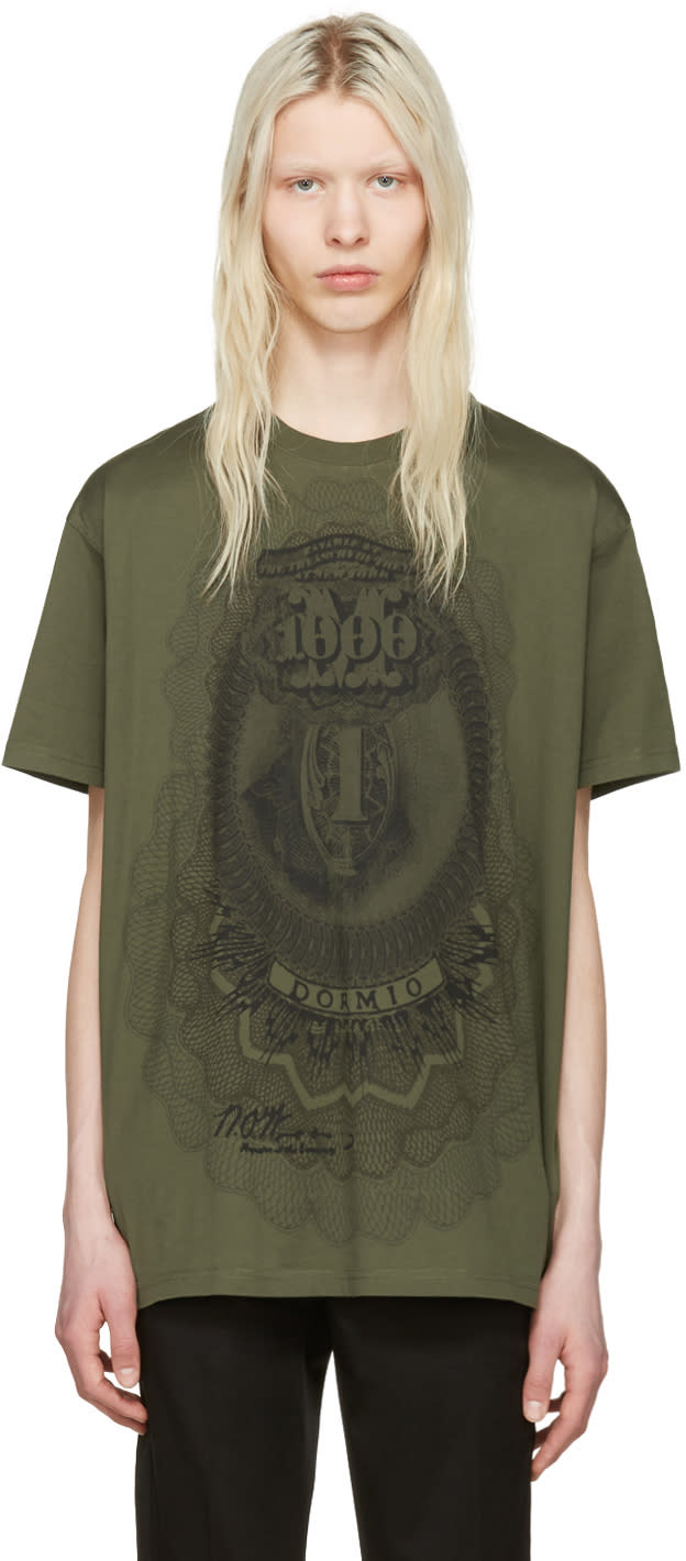Givenchy Green Money T-shirt