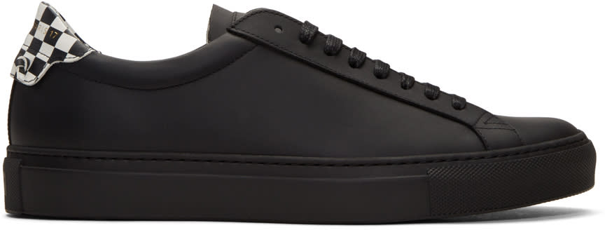 Givenchy Black Urban Knot Sneakers