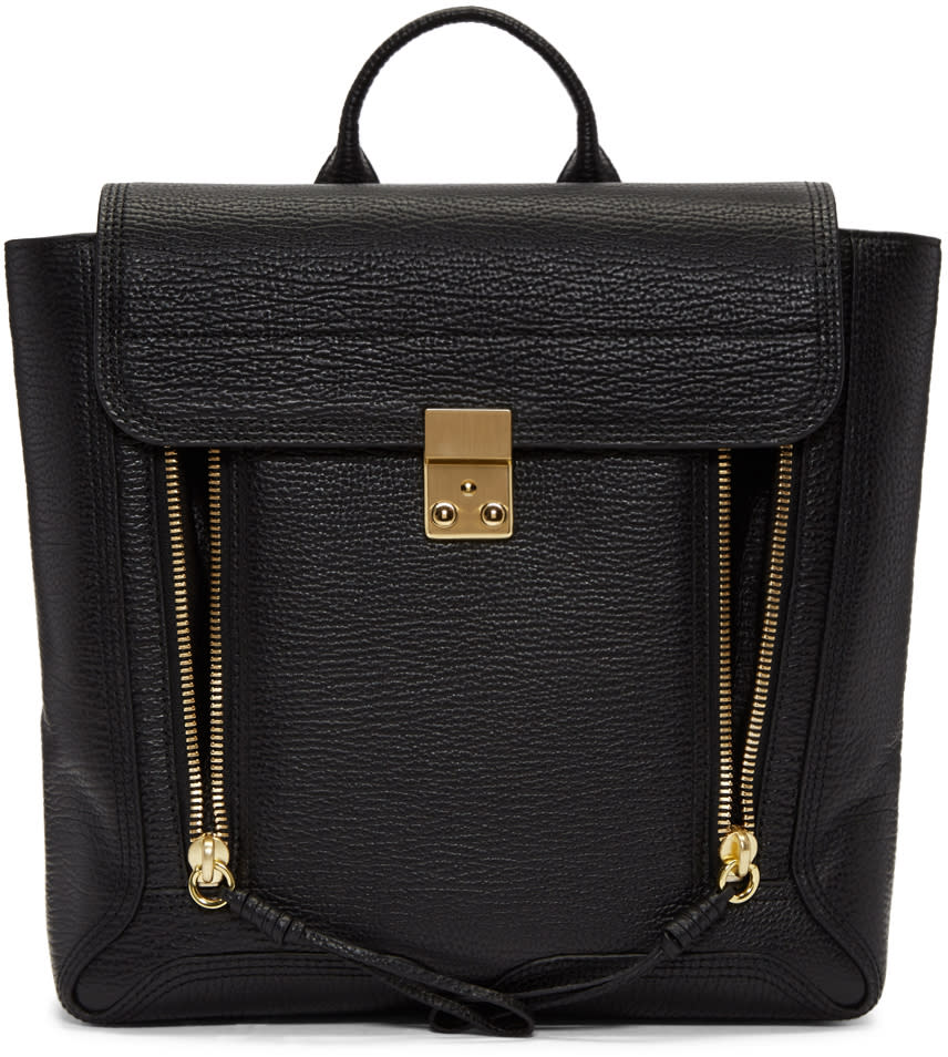 3.1 Phillip Lim Black Pashli Backpack