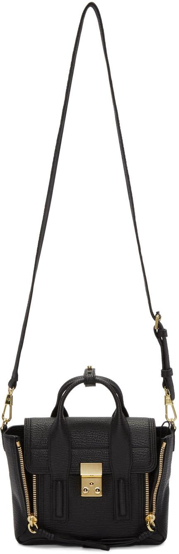 31 phillip lim female 31 phillip lim black mini pashli satchel