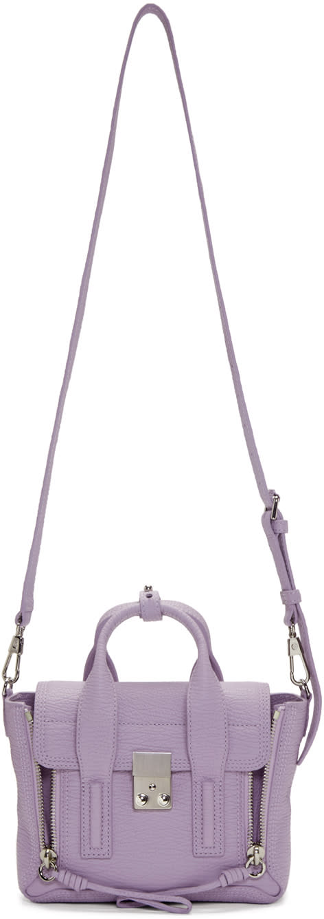 3.1 Phillip Lim Ssense Exclusive Purple Mini Pashli Satchel