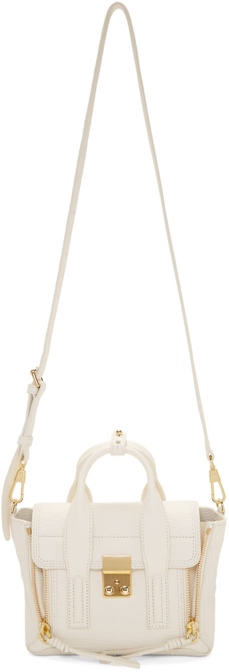 3.1 Phillip Lim Off-white Mini Pashli Satchel
