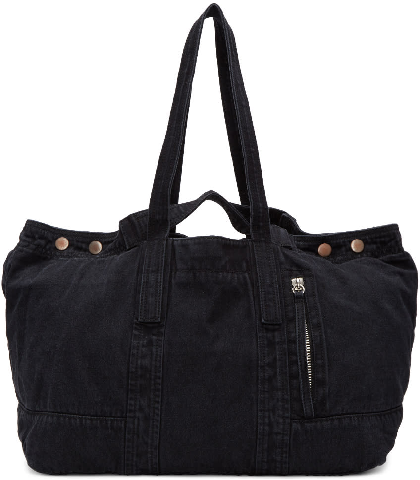 3.1 Phillip Lim Black Denim Field Tote