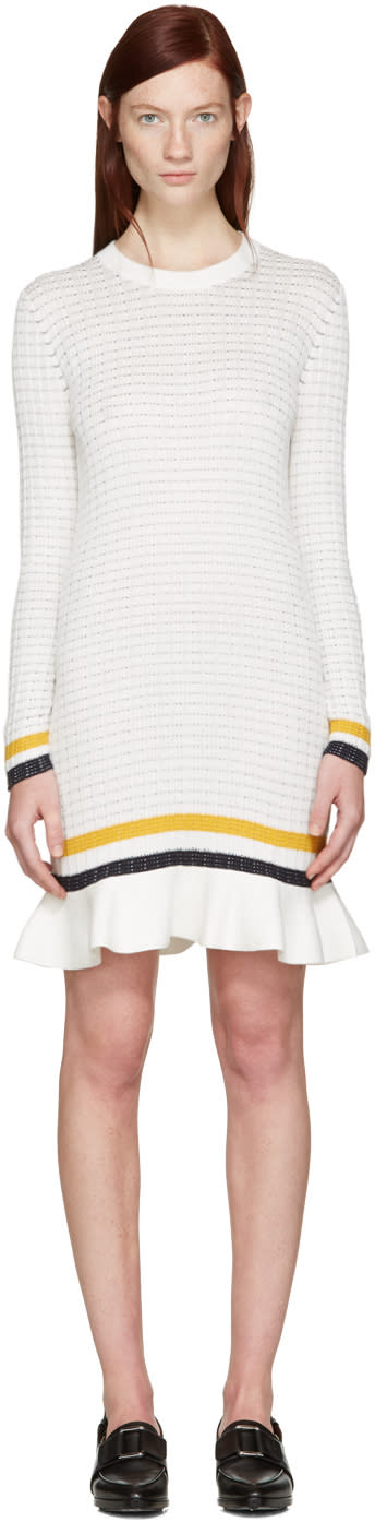 3.1 Phillip Lim White Knit Dress