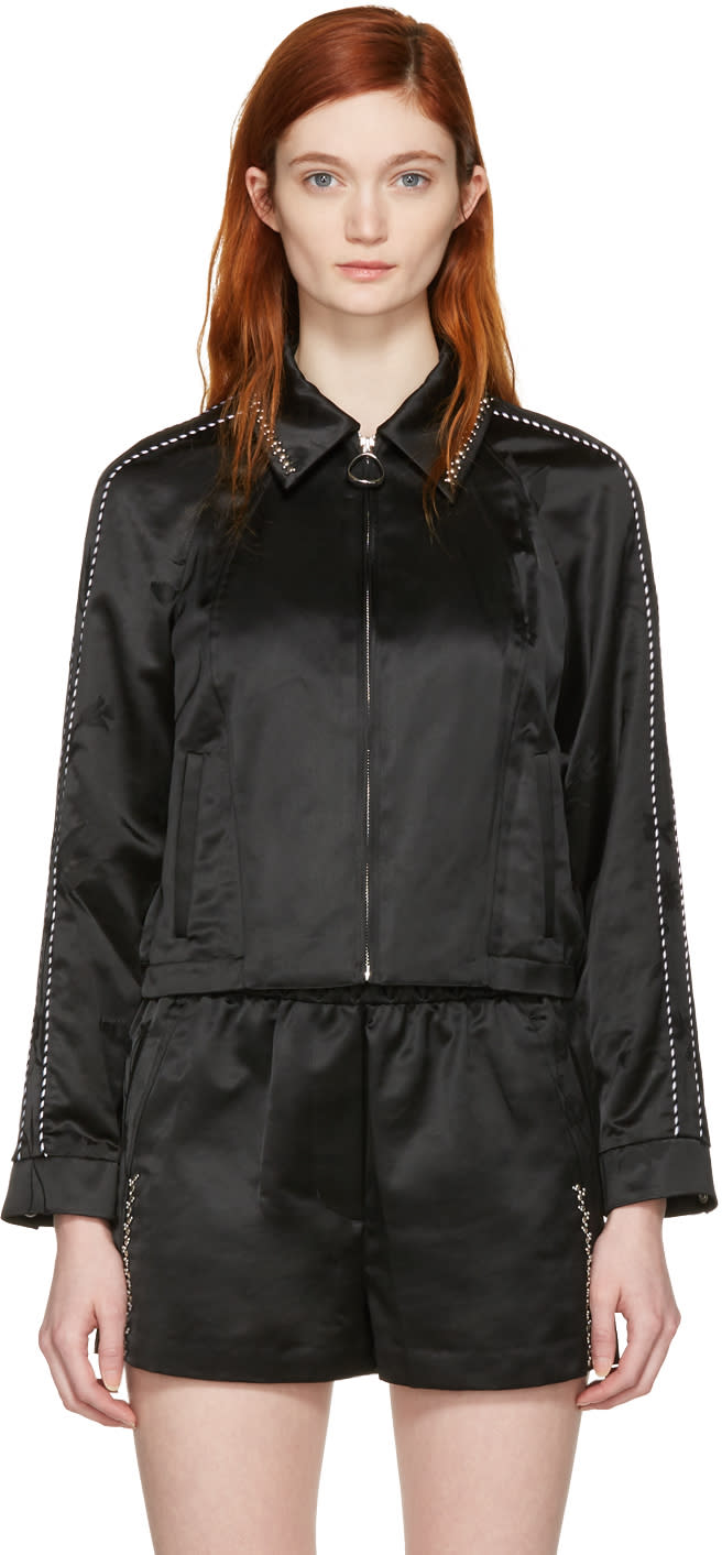 3.1 Phillip Lim Black Western Jacket