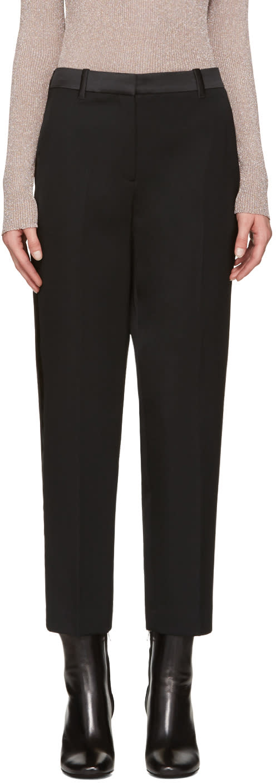 3.1 Phillip Lim Black Tuxedo Trousers