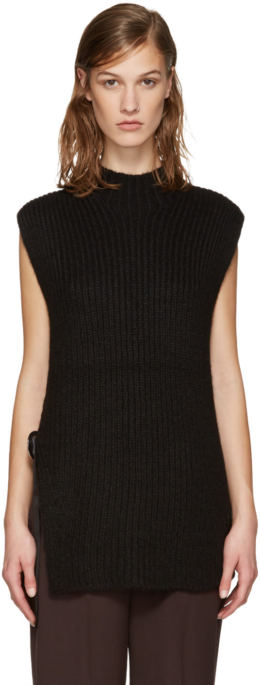 3.1 Phillip Lim Black Eyelet Sweater