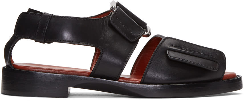 3.1 Phillip Lim Black Addis Sandals