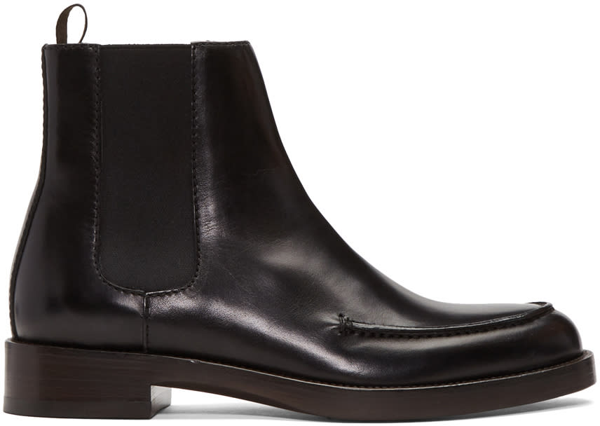 3.1 Phillip Lim Ssense Exclusive Black Lou Boots