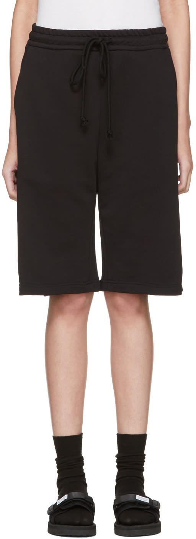 Raf Simons Black Hyena drylands Shorts