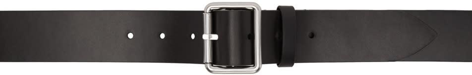 Raf Simons Black Leather Belt