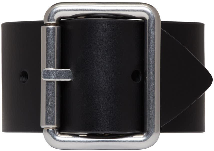 Raf Simons Black Belt Bracelet