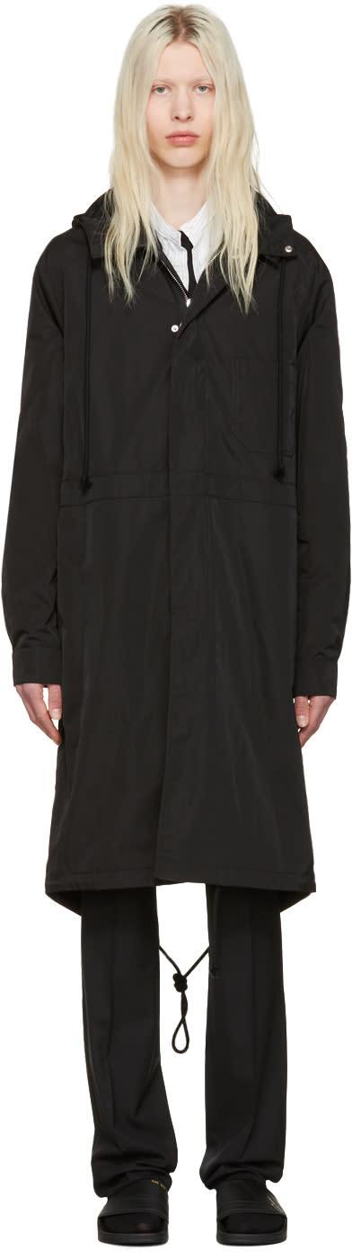 Raf Simons Black Robert Mapplethorpe Edition Workwear Calla Lily Parka