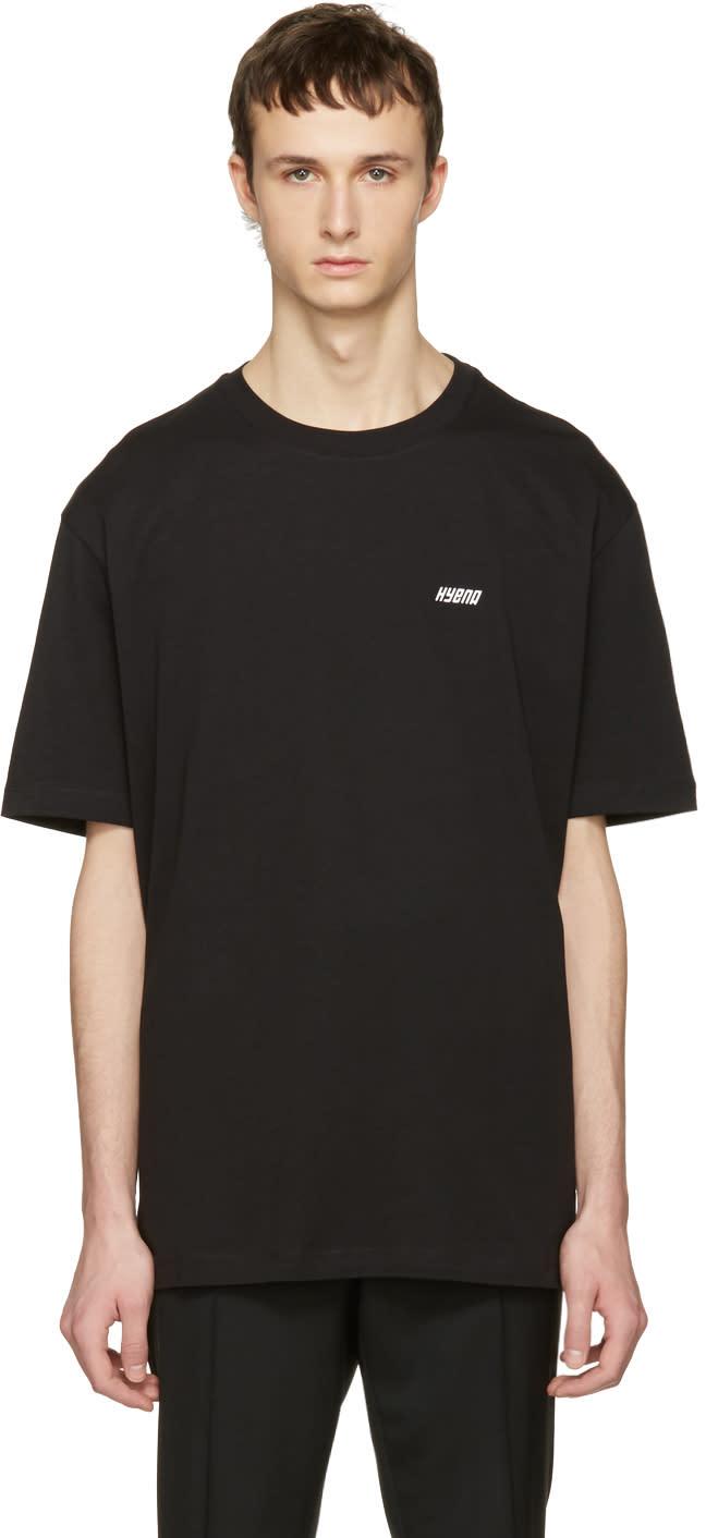 Raf Simons Black Hyena T-shirt
