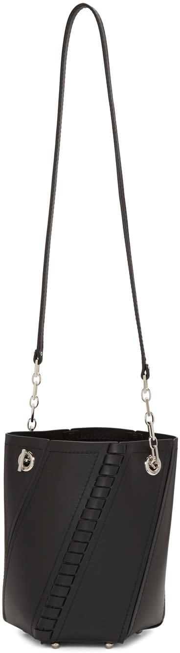 Proenza Schouler Black Hex Bucket Bag