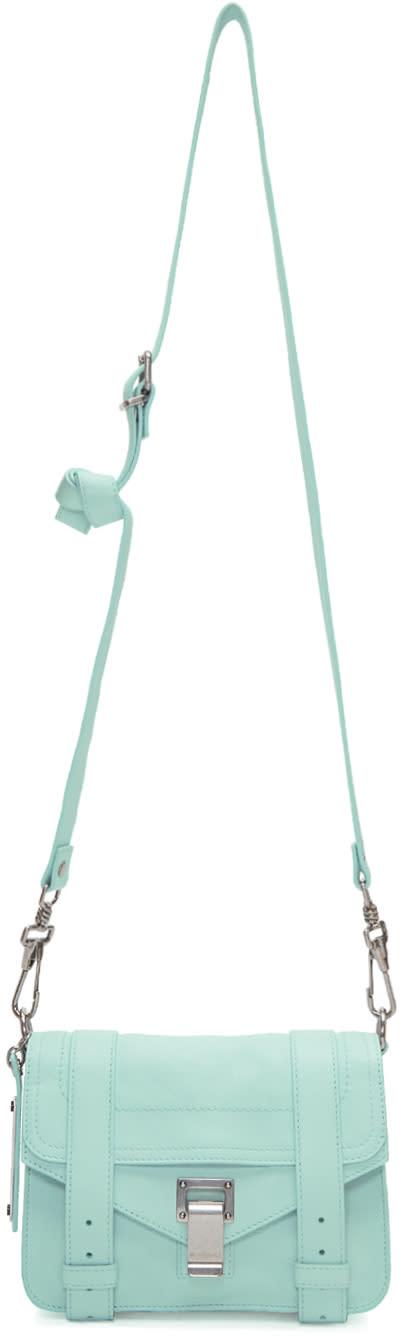 Proenza Schouler Blue Mini Ps1 Crossbody Bag