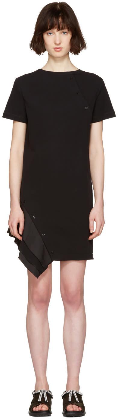 Proenza Schouler Black Ruffle Dress