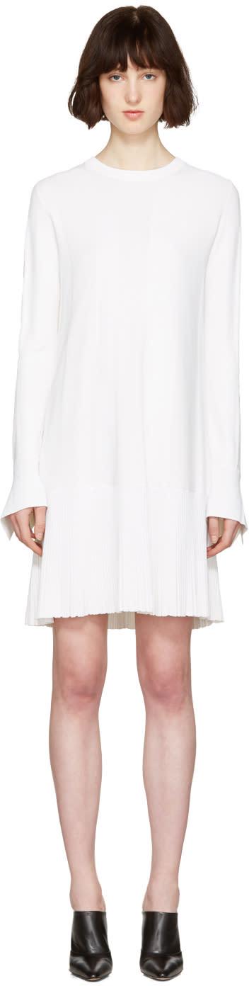 Proenza Schouler White Drop Waist Dress