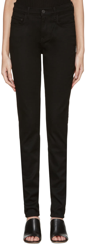 Proenza Schouler Black High Waist Skinny Jeans