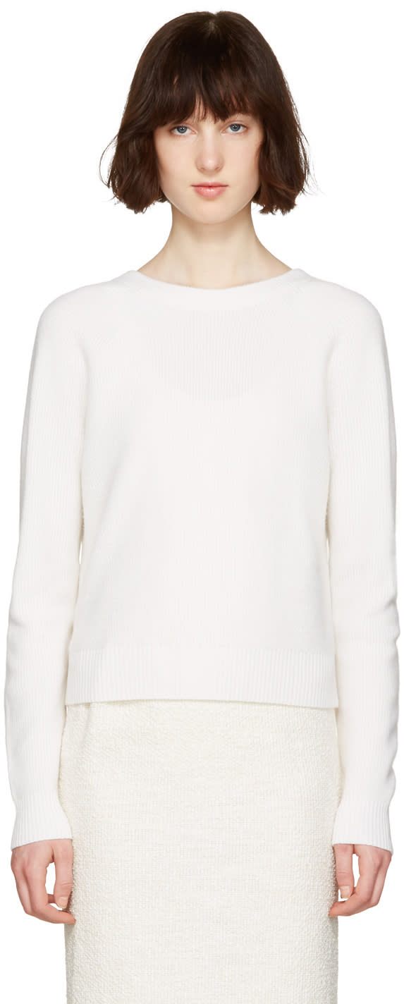 Proenza Schouler White Buttoned Sweater