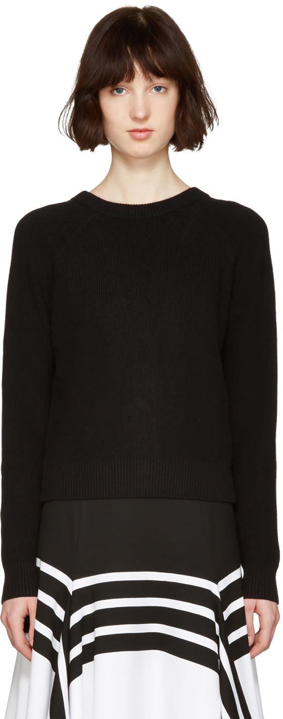 Proenza Schouler Black Buttoned Sweater