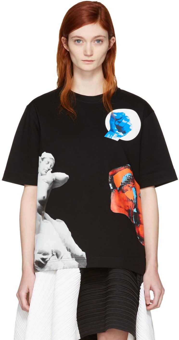 Proenza Schouler Black Sculpture T-shirt