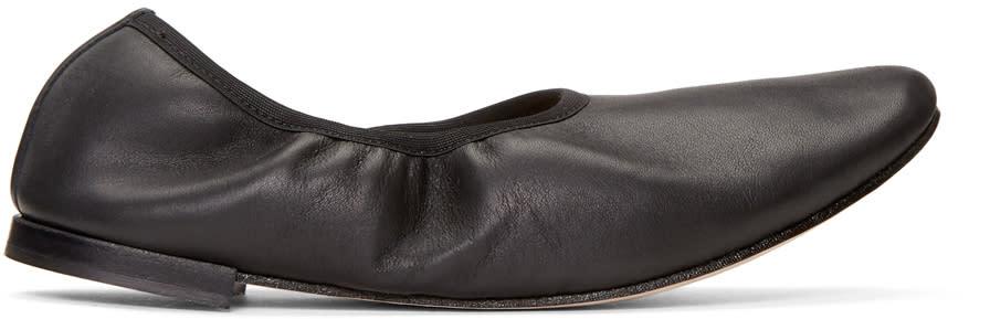 Repetto Black Caruso Ballerina Flats