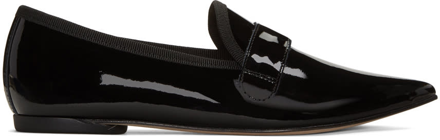 Repetto Black Federica Loafers