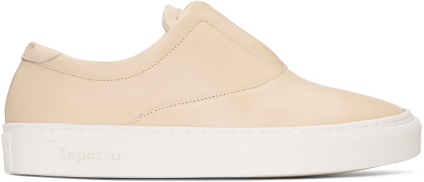 Repetto Beige Fanny Sneakers